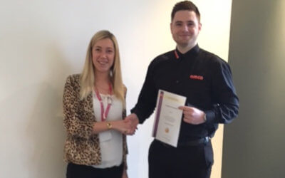 AMCO young apprentice wins prestigious award